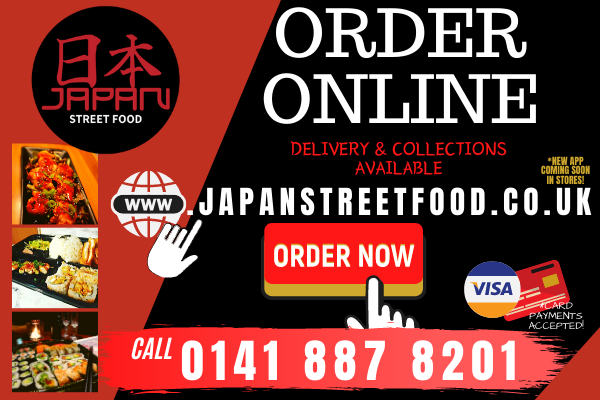 order online now Japan Street Food Paisley