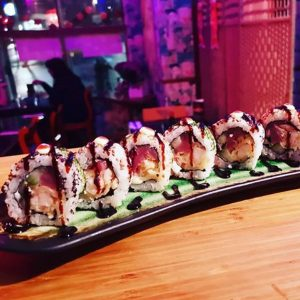 Japan Street Food Paisley - Ebi Roll