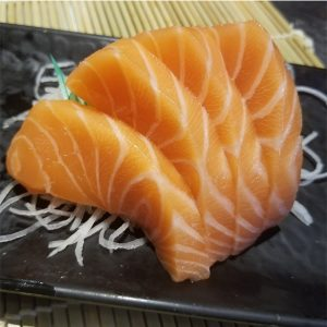 Japan Street Food Paisley - Salmon Sashimi