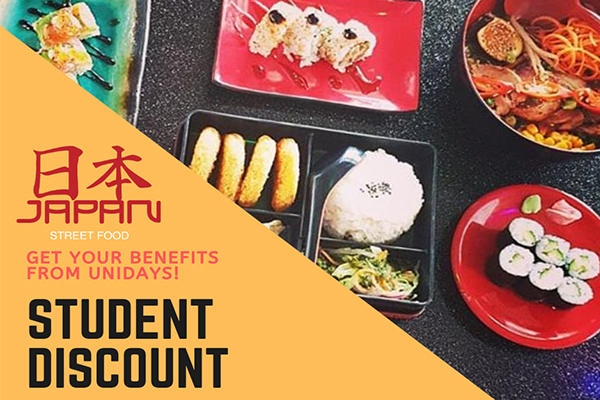 Japan Street Food Student Discount