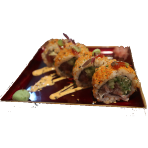 Spicy tuna roll Japan Street Food Paisley