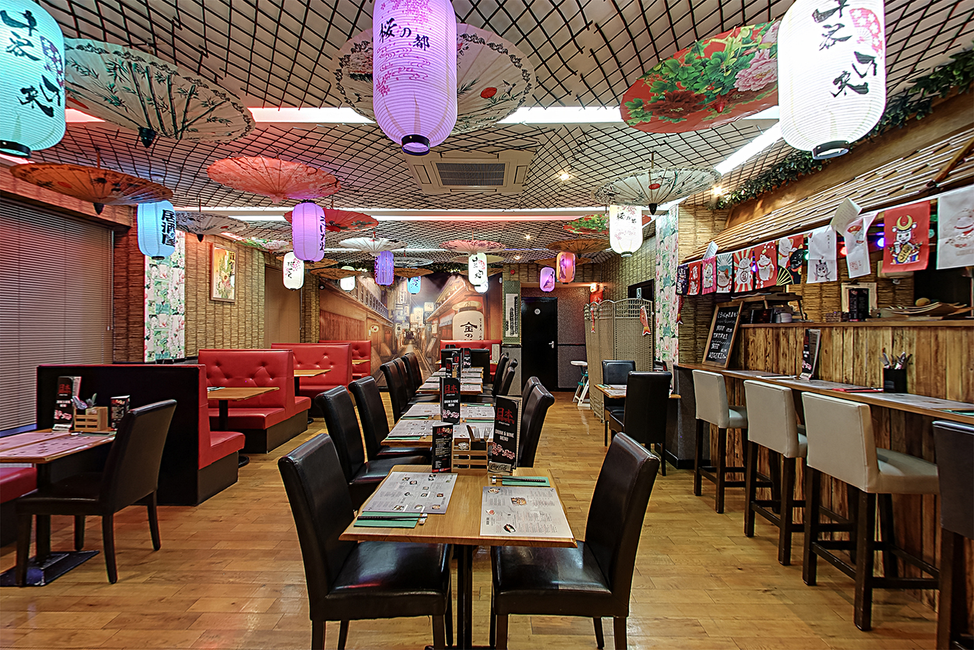 Restaurant Interior at Japan Street Food Paisley