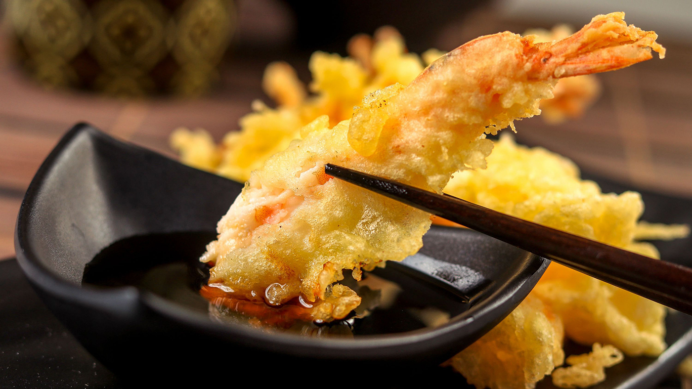 Prawn Tempura at Japan Street Food Paisley