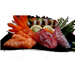 Mixed Sashimi platter Japan Street Food Paisley