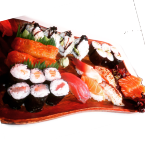 Sushi platter no 2 at Japan Street Food Paisley