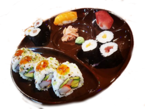 sushi set platter no 1 at Japan Street Food Paisley
