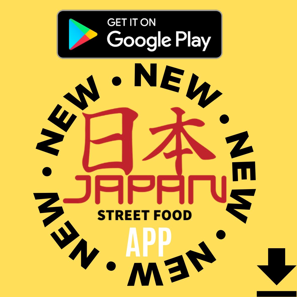 Logo App Japan Street Food Paisley